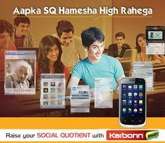 Raise Your Social Quotient with Karbonn Smart...