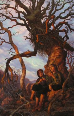 "Raul Vitale, ""Treebeard"" from The Hobbit & Lord of the rings trilogy books"