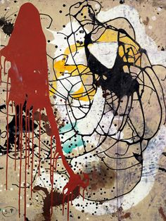 Polish born, German Sigmar Polke (1941–2010) was a painter, photographer, printmaker & one of the founders of the Capitalist Realist movement in the 1960s. He experimented with a wide range of styles, subject matters and materials. In the 1970s, he concentrated on photography, returning to paint in the 1980s, when he produced abstract works created by chance through chemical reactions between paint and other products.