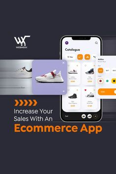 Ecommerce apps have been noticed to generate two times more sales than #ecommerce websites for mobile. So, hurry up and get your ecommerce app now and 2x your revenue. 🤩