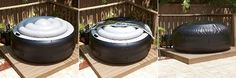 Portable Hot Tub with cover  -- You can find these on Amazon for a little over $600.