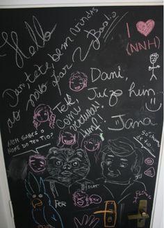 Door - blackboard