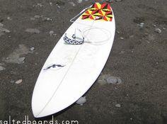 Take something short and wide. This is a 5'10 Balian, Bali #balian #bali #indonesia #surfboard