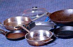 Как сделать обычную сковороду непригораемой