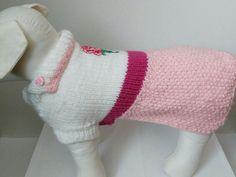 Šaty· ruža· pre fenky- HAND MADE - veľkosť L (30 cm chrbatika) 17€ viac info : www.svetprepsa.sk