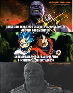 Se ferrou Thanos