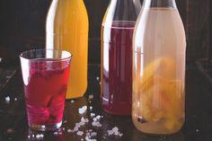 Limonáda s tibi krystaly z Esky Kefir, Business, Shop, Tibicos, Alcohol, Store, Business Illustration