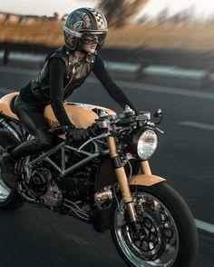 Ducati my Love . Ducati 1000, Ducati Sport 1000, Ducati Cafe Racer, Cafe Racer Bikes, Motorbike Girl, Motorcycle Bike, Motorcycle Girls, Lady Biker, Biker Girl