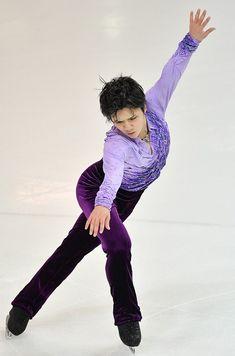 【フィギュアスケートGPファイナル・男子SP】 男子SPで4位につけた宇野昌磨=フランス・マルセイユで2016年12月8日、宮間俊樹撮影