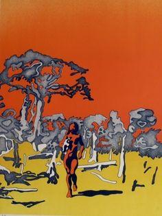 Henri Cueco, Sans titre (série Sols d'Afrique)