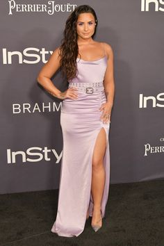 Demi Lovato - 3rd Annual InStyle Awards in Los Angeles - 10/23/2017