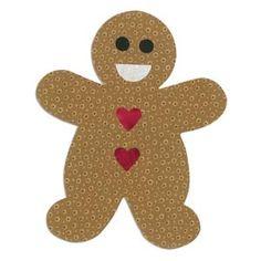 Sizzix Bigz L Die - Gingerbread Man $29.99