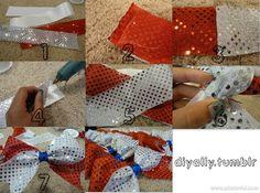 DIY cheer bow tutorial by moi:)