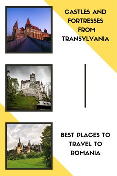 Transylvania is so beautiful that it's almost hard to tell what place most impressed you. It is located in the center of the country and is the largest region in Romania, including ten counties.  Transylvania has a rich history, this area being inhabited ever since Antiquity. Over time, this territory belonged to several empires such as the Roman Empire, the Austrian Empire, and then the Austro-Hungarian Empire, and since 1918 this region is part of Romania. Best Places To Travel, Cool Places To Visit, Romanian Castles, Romania Tours, Peles Castle, Austrian Empire, Austro Hungarian, Roman Empire, The Good Place