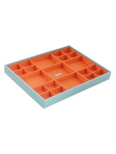 Stackables Large Standard Aqua Jewelry Tray from Jewelry Boxes by Wolf Designs on Gilt