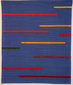 """""""LinesFall"""" by Debbie Grifka, Esch House Quilts"""