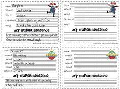 "how to write a ""super sentence"""