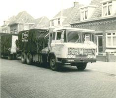 DAF BS-10-94 Van Keulen Kampen met bingham dekkleden en figuurgezaagde tekst 1970