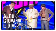 I tre vecchietti - Aldo Giovanni e Giacomo con Ale e Franz a Zelig 2014