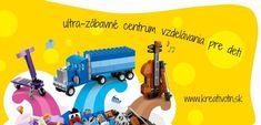 Kreatívne centrum pre deti, kde sa deti veľa naučia, ale aj zahrajú - akcnemamy Nerf