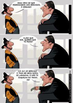 Cartoon: A prova