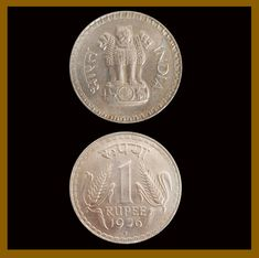 India 1 Rupee Coin 1976 Bombay Unc - India Coin - Ideas of India Coin Coin Buyers, East India Company, Coins For Sale, World Coins, Silver Coins, Ebay, Things To Sell, Ideas, Silver Quarters