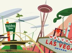 """Back to the Future: Disappearing """"Googie"""" architecture evokes space-age past"""