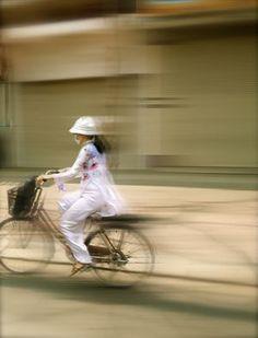 Cyclist Hanoi
