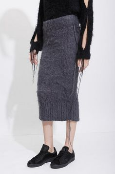 """what-do-i-wear: """" HELEN LAWRENCE MOHAIR LONG SKIRT, $ 940 """""""