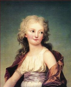 "Marie-Thérèse Charlotte de France, called ""Madame Royale"", was the first child of Louis XVI and Marie-Antoinette"