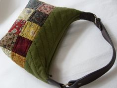 Patchwork Bags, Quilted Bag, Handmade Fabric Bags, Japanese Bag, Purse Patterns, Messenger Bag, Gym Bag, Quilts, Purses