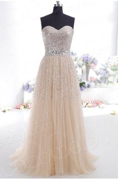 A-Line/Princess Sweetheart Tulle Sleeveless Floor-Length Dresses - Formal Dresses - Prom DiaryWedding Bridal Dresses,Prom Dresses,Gowns,Plus Sized,Custom Made Bridesmaid Dresses and Bridal AccessoriesShop for stylish evening dresses and look stunning Tulle Prom Dress, Dress Up, Party Dress, Dress Long, Long Dresses, Dress Formal, Dresses 2016, Prom Party, Formal Prom