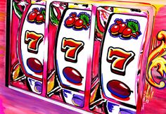 Lucky 7 Painting by TONY VEGAS