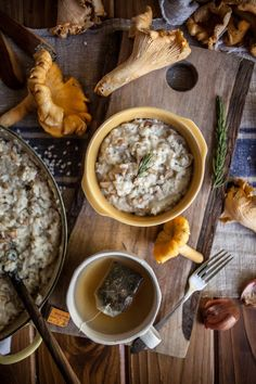 Chantarelle Mushroom & Caramelized Shallot Risotto + How To Forage For Chantarelles In The Northwest