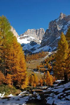 Marmolada dalla Val Contrin, Dolomites, province of Belluno, Veneto, Northern Italy