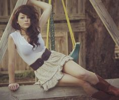"Cady Groves.. my famous ""twin""....according to my dear friend Kyle ;p"
