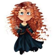princess merida from brave.png (600×600)