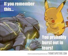 Still making us cry since 1998 #Pokemon
