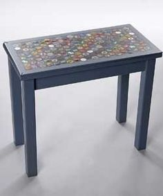 DIY Bottle-Cap Table
