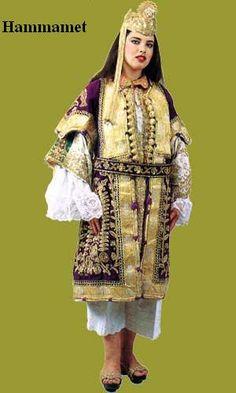 habit traditionnel tunisien اللباس التقليدي