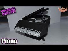 ♥ Tutorial: Piano de Goma Eva (Foamy) ♥ - YouTube
