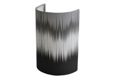 Monochrome ikat Small Ellipse Shield wall shade