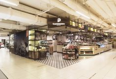 Da Paolo Gastronomia store by Retail Access, Singapore food fast food cafe