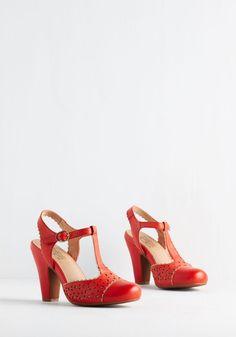 Miz Mooz Wine and Dynamic Heel | Mod Retro Vintage Heels | ModCloth.com
