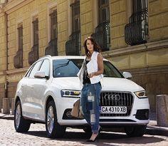 #Audi #Q3 #white #bianca #donne #Audi #style Automobile, Audi Q3, Porsche, Goals, Luxury, Car, Life, Beautiful, Style