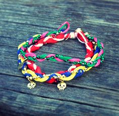 Quiet Lion Creations: ASOS Braided Friendship Bracelets