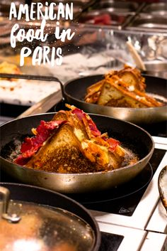 American food is the rage in Paris. Check out 4 restaurants for hamburgers, hot dogs, grilled cheese & BBQ in Paris.