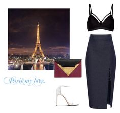 """""""Paris my love.."""" by fashionlover-1995 ❤ liked on Polyvore featuring Cushnie Et Ochs, Lipsy, Dareen Hakim and modern"""