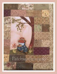Resultado de imagem para PONTO FINAL PATCHWORK PINTEREST Patch Quilt, Applique Quilts, Embroidery Applique, Sunbonnet Sue, Small Gifts For Friends, Anni Downs, Stitch Patch, Fabric Book Covers, Diary Covers