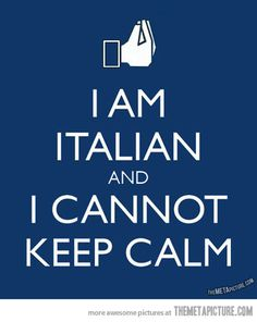 An Italian truth…why can't people just know this?